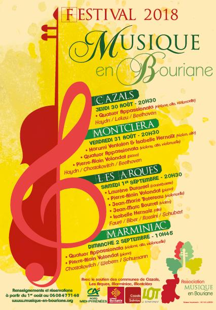 Festival Musique en Bouriane